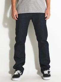 Volcom Solver Form Jeans  Free Blue