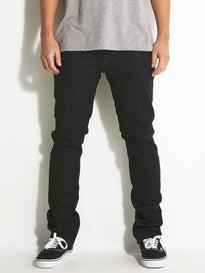 Volcom Vorta Jeans  Black Rinser
