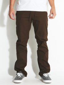 Volcom VSM Gritter Anti Hero Pants Dark Chocolate
