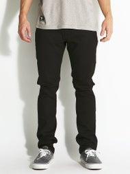 Volcom Vorta Form Jeans  S-Gene Black on Black