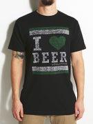 Von Zipper I Heart Beer T-Shirt