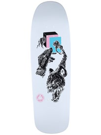 Welcome Face Of A Lover White Dip Deck  9.5 x 32.4