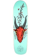 Welcome Goathead Teal Deck  8.5 x 32.4