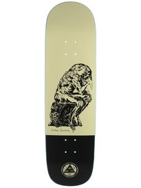 Welcome Sanchez Crinker Cream/Black Deck 8.75 x 32.88