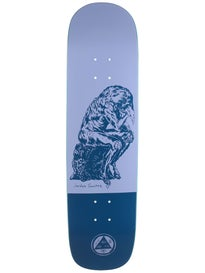 Welcome Sanchez Crinker Lavender/Blue Deck  8.25 x 32