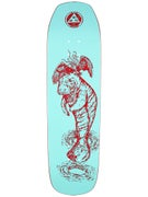 Welcome Mermaid Teal/Red Deck  8.6 x 32.4