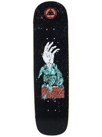 Welcome Magic Bunny Black Deck  8.25 x 32