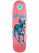 Welcome Nolan Rocking Dog Pink Dipped Deck 9.125 x 32.4