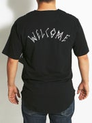 Welcome Scrawl Baseball Jersey