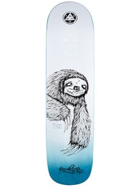 Welcome Sloth White/Black Deck 8.0 x 32
