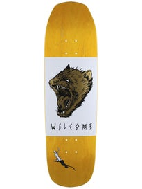 Welcome Tasmanian Angel White/Gold Deck  9.0 x 32.4