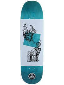 Welcome Wax Gorilla White/Black Deck  8.75 x 32.8