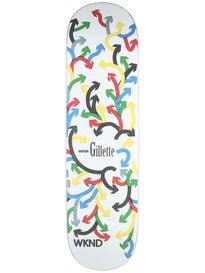 WKND Gillette Arrows Deck  8.25 x 31.5