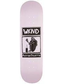 WKND Gillette Shy Cheers Deck  8.5 x 31.75