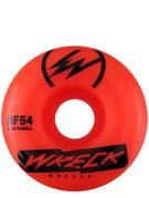 Wreck W2 Square Cut Orange Wheels