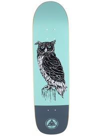 Welcome Black Beak Teal/Grey Deck  8.38 x 32.25