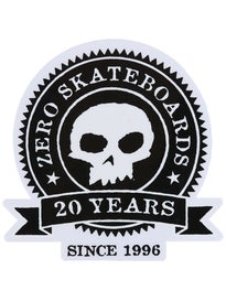 Zero 20 Year Sticker
