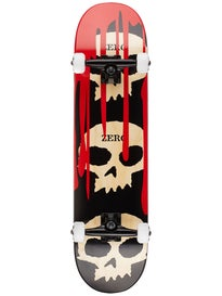 Zero 3 Skull w/Blood Black/Red/Natural Comp  7.875 x 31