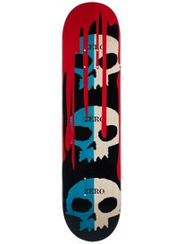 Zero 3 Skull w/Blood Blue Natural Deck 7.625 x 31.3