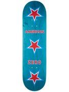 Zero American Zero Asst. Stain Deck  8.375 x 31.9