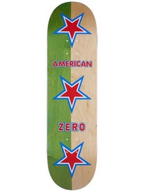 Zero American Zero Green/Natural Deck 8.375 x 31.9