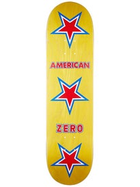 Zero American Zero Red/White/Blue Deck  8.0 x 31.6