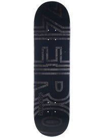 Zero Burman Embossed Signature Bold Deck 8.25 x 31.9