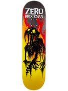 Zero Brockman From Hell Impact Light Deck  8.5 x 32.3
