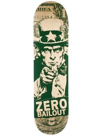 Zero Bailout Green/Natural Deck  8.25 x 31.9