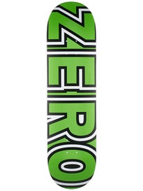 Zero Bold Neon Green Deck 8.375 x 32