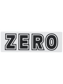 Zero Bold Sticker  White/Black