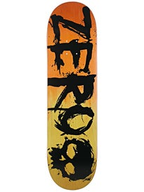 Zero Blood Orange/Yellow Deck  8.375 x 31.9