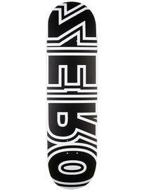 Zero Bold Reverse Black/White Deck  8.5 x 32.3