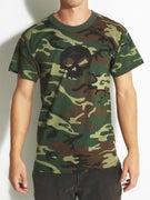 Zero Camo Single Skull T-Shirt