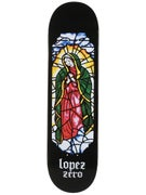 Zero Lopez Stained Glass Deck  8.375 x 31.8