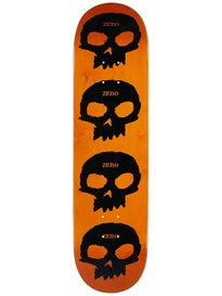 Zero Multi Skull Black/Orange Deck 8.125 x 31.8