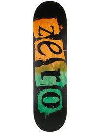 Zero Punk Orange/Green Deck 8.25 x 32