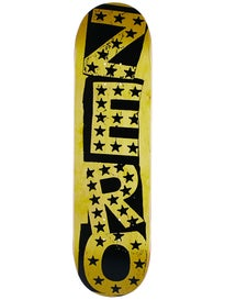 Zero Punk Stars Black/Yellow Deck 8.25 x 31.9