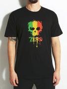 Zero Rasta Blood Skull T-Shirt