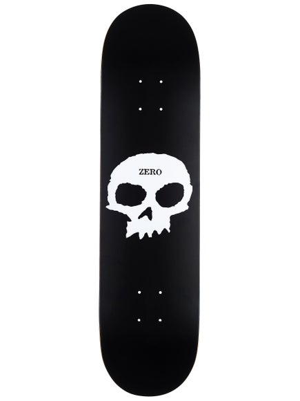 Zero Single Skull Deck 7.75 x 31.13
