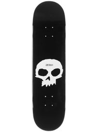 Zero Single Skull Deck  8.25 x 31.7