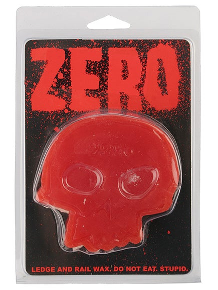 Zero Skull Curb Wax  Red