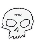 Zero Skull Sticker  White