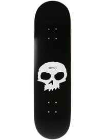 Zero Single Skull Deck  8.5 x 32