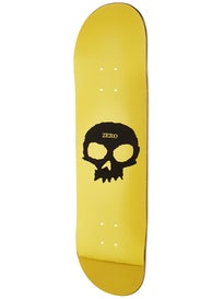 Zero Single Skull Foil Gold Black Deck  8.125 x 31.7
