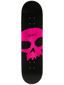 Zero Single Skull K/O Black/Pink Deck 8.125 x 31.8