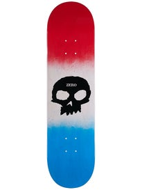 Zero Team Single Skull Red/Bone/Blue Deck 8.0 x 31.6