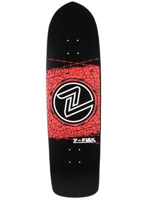 Z-Flex Barbed Wire Black/Red/White Deck  9.5 x 33.25