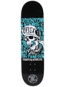 Z-Flex Dead Language Blue Deck  8.5 x 32