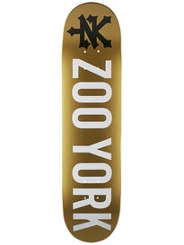 Zoo York Photo Incentive Gold Deck  7.75 x 31.375